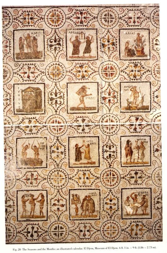 Resultado de imagen de calendario romano